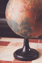 Old globe of the world Royalty Free Stock Photo