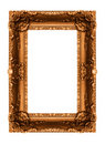 Old golden frame Stock Photography