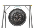 Old gong in thai temple Royalty Free Stock Photos
