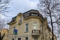 Old good renovated house in sofia city bulgaria Royalty Free Stock Photo