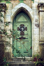Old Gothic Door Royalty Free Stock Photo