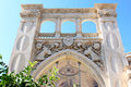 Old gothic Town Hall in Lecce, Italy