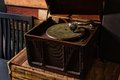 Old Gramophone Player Royalty Free Stock Photo