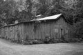 Old grange hall an in the mountains of central virginia Royalty Free Stock Photography