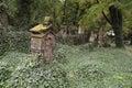 Old graveyard Royalty Free Stock Photo