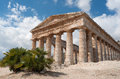 Old greek temple segesta Royalty Free Stock Photos