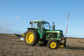 A old green john deere 2030 tractor Royalty Free Stock Photo