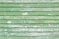 Old green painted wood wall texture or background Royalty Free Stock Image