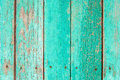 Old green wooden fence background close up Royalty Free Stock Photos
