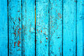 Old green wooden fence Royalty Free Stock Photo