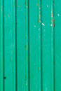 Old green zinc wall background Royalty Free Stock Photos