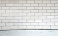 Old grey brick wall background Stock Image