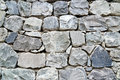 Old grey stone wall Royalty Free Stock Photo