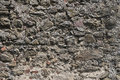 Old grey stone wall house background Royalty Free Stock Photo