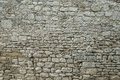 Old grey stone wall texture background Royalty Free Stock Photo