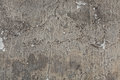 Old grey stucco wall with cracked plaster. Background texture Royalty Free Stock Photo