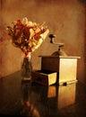 Old grinder Stock Images