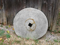 Old grindstone wheel. Royalty Free Stock Image
