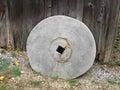 Old grindstone wheel. Royalty Free Stock Image