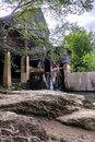 Old grist mill in Pigeon Forge, Tennessee Royalty Free Stock Photo