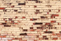 Old grunge colorful brick wall texture photo Stock Photography