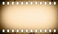 Old grunge film strip background Royalty Free Stock Image