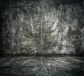 Old grunge room Stock Images