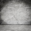 Old grunge room concrete wall interior background Royalty Free Stock Photo