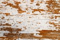 Old grunge and weathered white painted wooden wall plank texture background Royalty Free Stock Photo