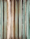 Old, grunge wood panels used as background. Royalty Free Stock Photo
