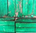 Old, grunge wood panels used  background Royalty Free Stock Photo