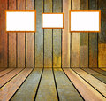 Old grunge wooden wall used as background backgrounds Royalty Free Stock Images