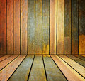 Old grunge wooden wall used as backgrounds Stock Photo