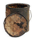 Old grungy bucket Royalty Free Stock Photo