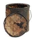 Old grungy bucket