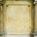 Old grungy framed wall Royalty Free Stock Photo