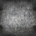Old grungy metal background Stock Photos