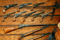 Old Guns Royalty Free Stock Photo