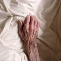 An old hand Royalty Free Stock Image