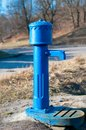 Old hand operated water pump Royalty Free Stock Photos
