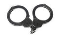 Old handcuff Royalty Free Stock Photo