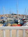 Old harbor - Marseille - France Stock Photo