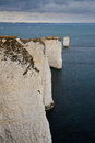 Old harry rocks in dorset uk Royalty Free Stock Photography