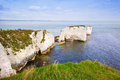 Old Harry Rocks Jurassic Coast UNESCO Royalty Free Stock Photography