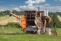 Old harvester Royalty Free Stock Photos