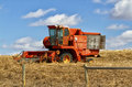 Old harvester Royalty Free Stock Photo