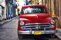 Old havana car Royalty Free Stock Photo