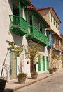 Old Havana houses Royalty Free Stock Images