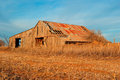 Old Hay Barn Stock Photo