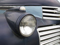 Old headlight on a truck Royalty Free Stock Image